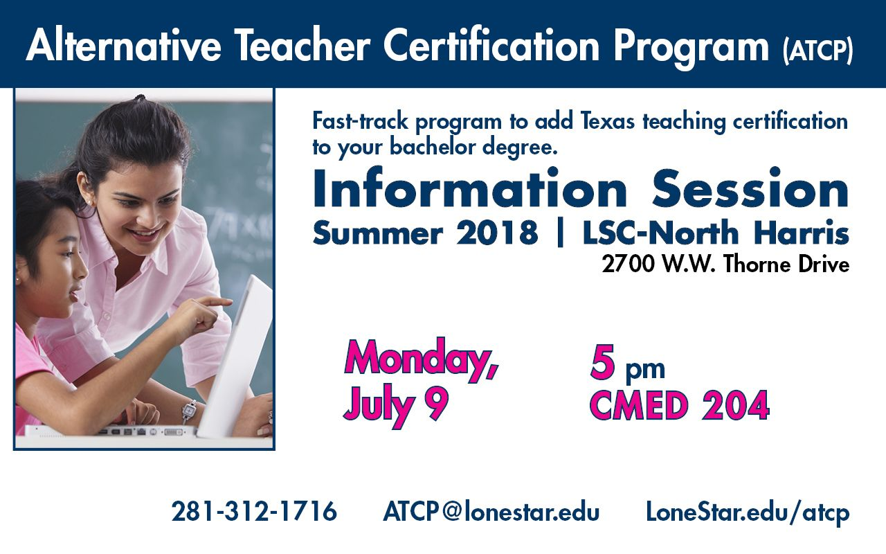 Don T Miss The Alternative Teacher Certification Program
