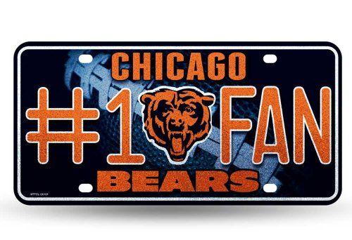 Chicago Bears 6 Bling Emblem