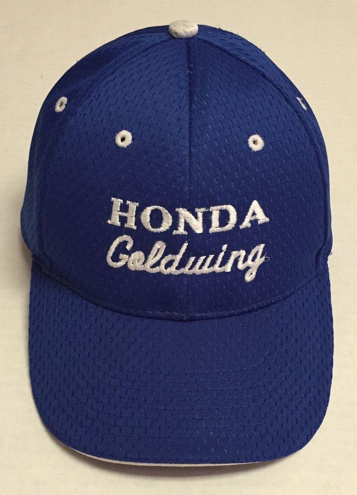 Vtg Honda Goldwing Hat Blue White Otto Osfm Motorcycle Otto Baseballcap Hats For Men Hats Baseball Cap