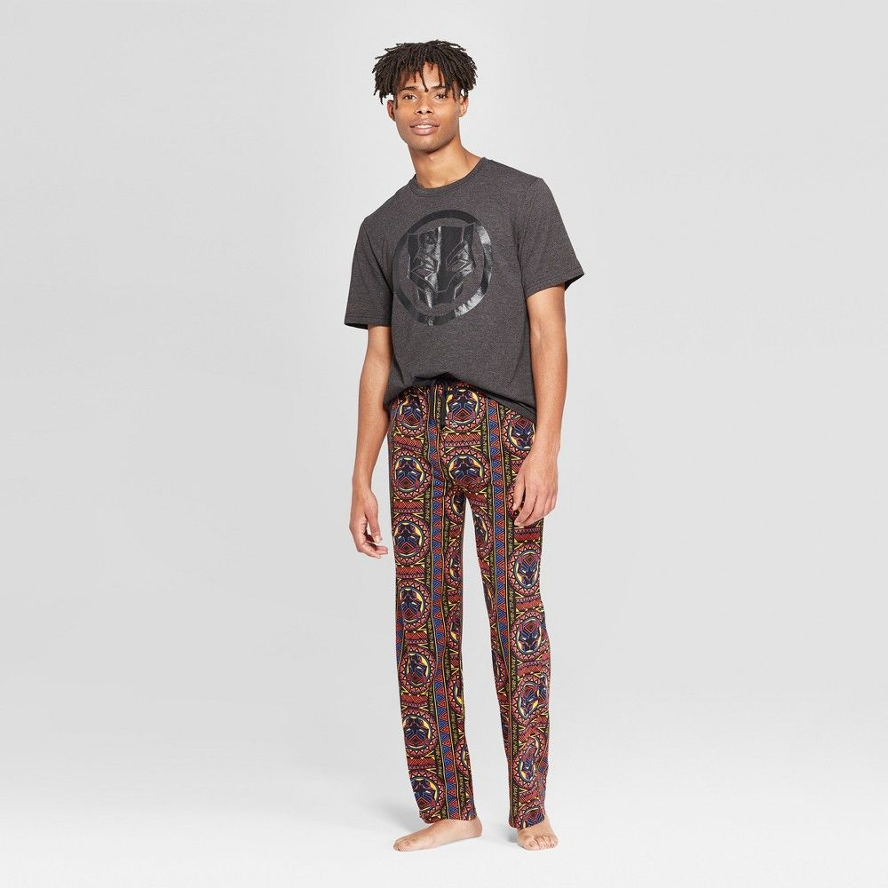 Marvel Black Panther Mens Pyjamas