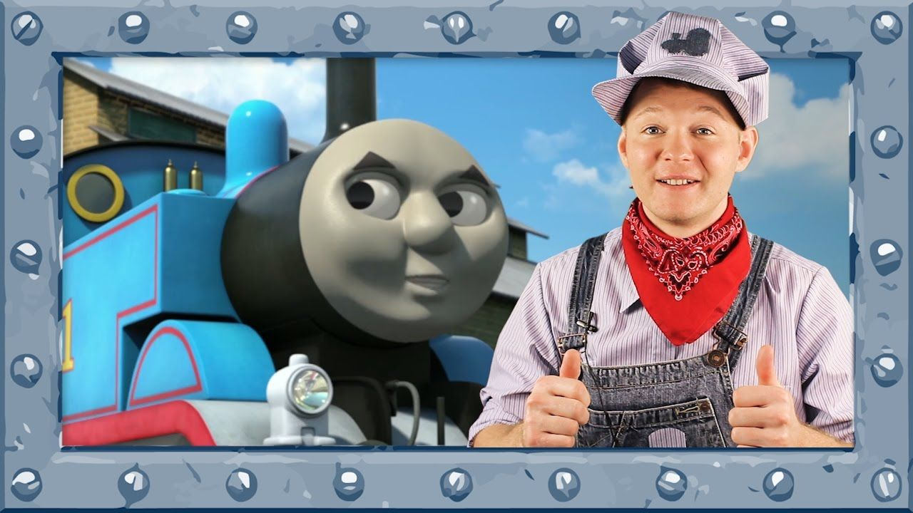 Coloring Thomas the Tank Engine ♢ Coloring page with Thomas and ...