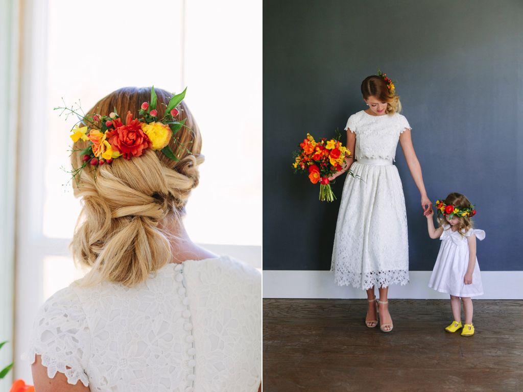 Wedding Flowers Utah Calie Rose Red Orange Yellow Wedding Flowers