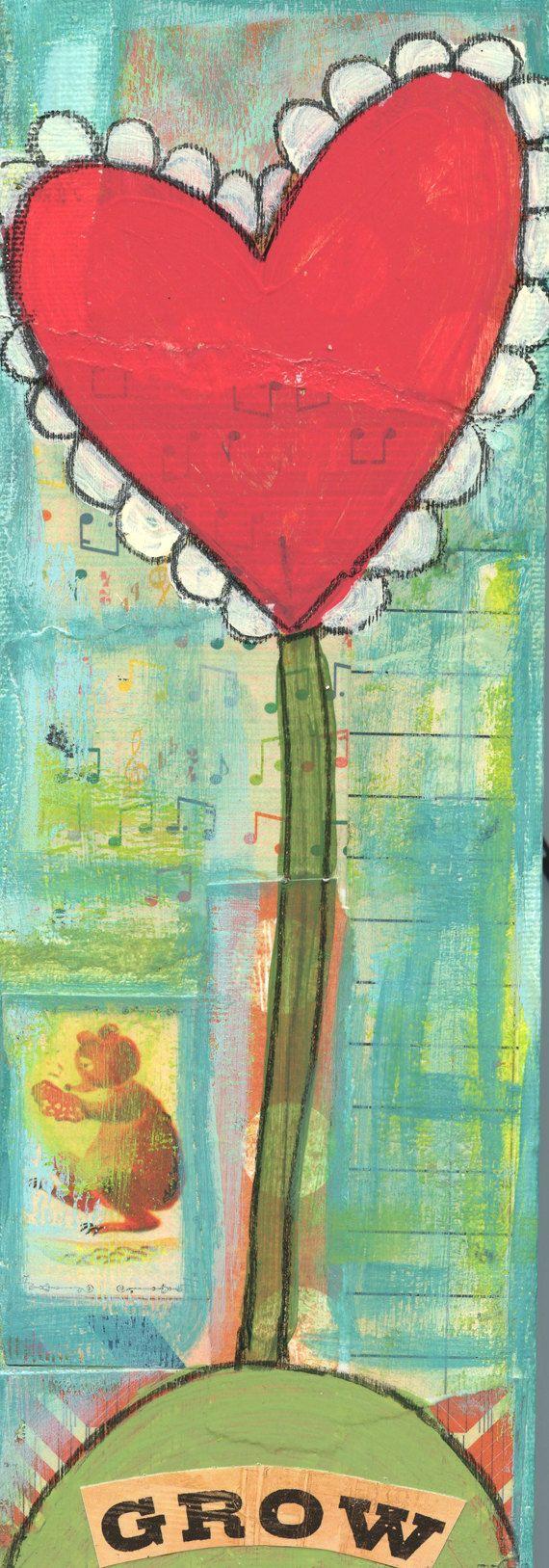 grow+happiness+flower+original+set+of+paintings+by+bettyandmaude,+$40.00
