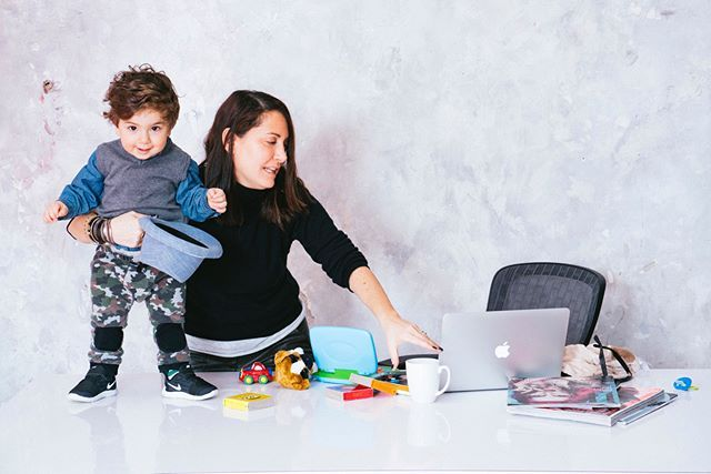 Happy #mothersday to all of the wonderful, hard-working Mother's and to all of the #mompreneurs in the world. Today, we celebrate everything we do for our little ones. Many thanks to @spencerkohn and for @heymamaco for brilliantly capturing the life of a working Mom. http://bit.ly/1TNWFiW #MothersDay #MomLife feature of our @stacyigel with son @dylanreidigel
