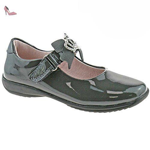 Lelli Kelly LK8286 (DB01) Black Patent Frankie School Shoes F Fitting-31 (UK 12.5) OF953