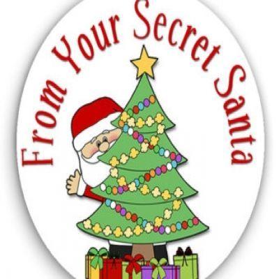 secret santa clipart a very merry christmas pinterest rh pinterest com christmas secret santa clip art secret santa clip art free