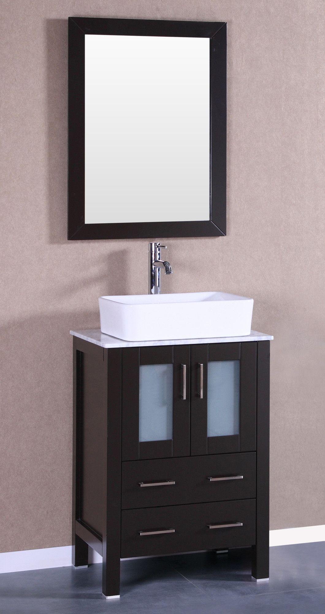 Azucena 24 5 Wall Mounted Single Bathroom Vanity Single