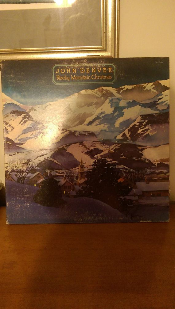 John Denver Rocky Mountain Christmas APL 1 - 1201 33 RPM 12 inch ...