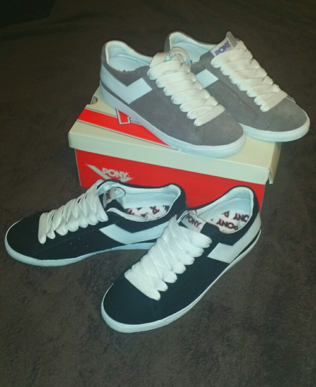buy online c60d5 17d65 2 hot pair of PONY Sneakers to add to my classic collection.