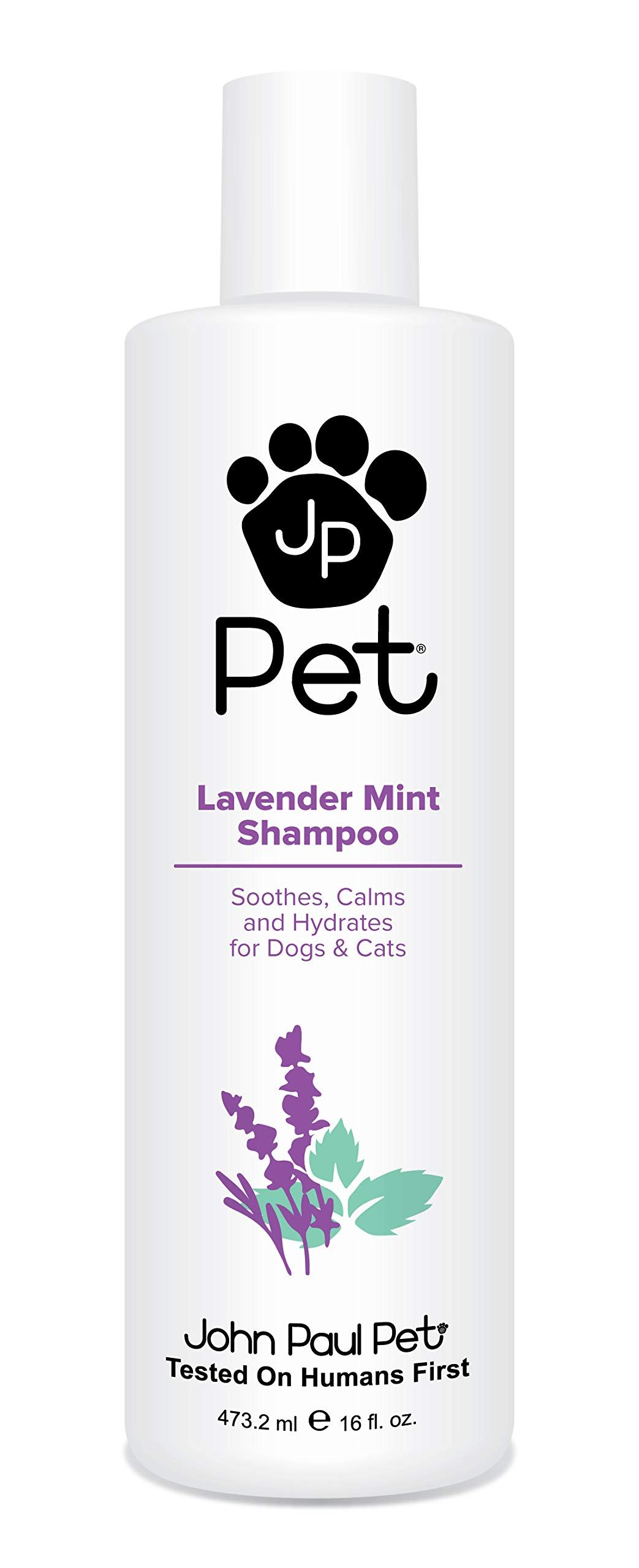 John Paul Pet Lavender Mint Shampoo For Dogs And Cats Soothes Calms And Hydrates 16ounce You Can Find Out More Details At T Mint Shampoo Oil Shampoo Shampoo