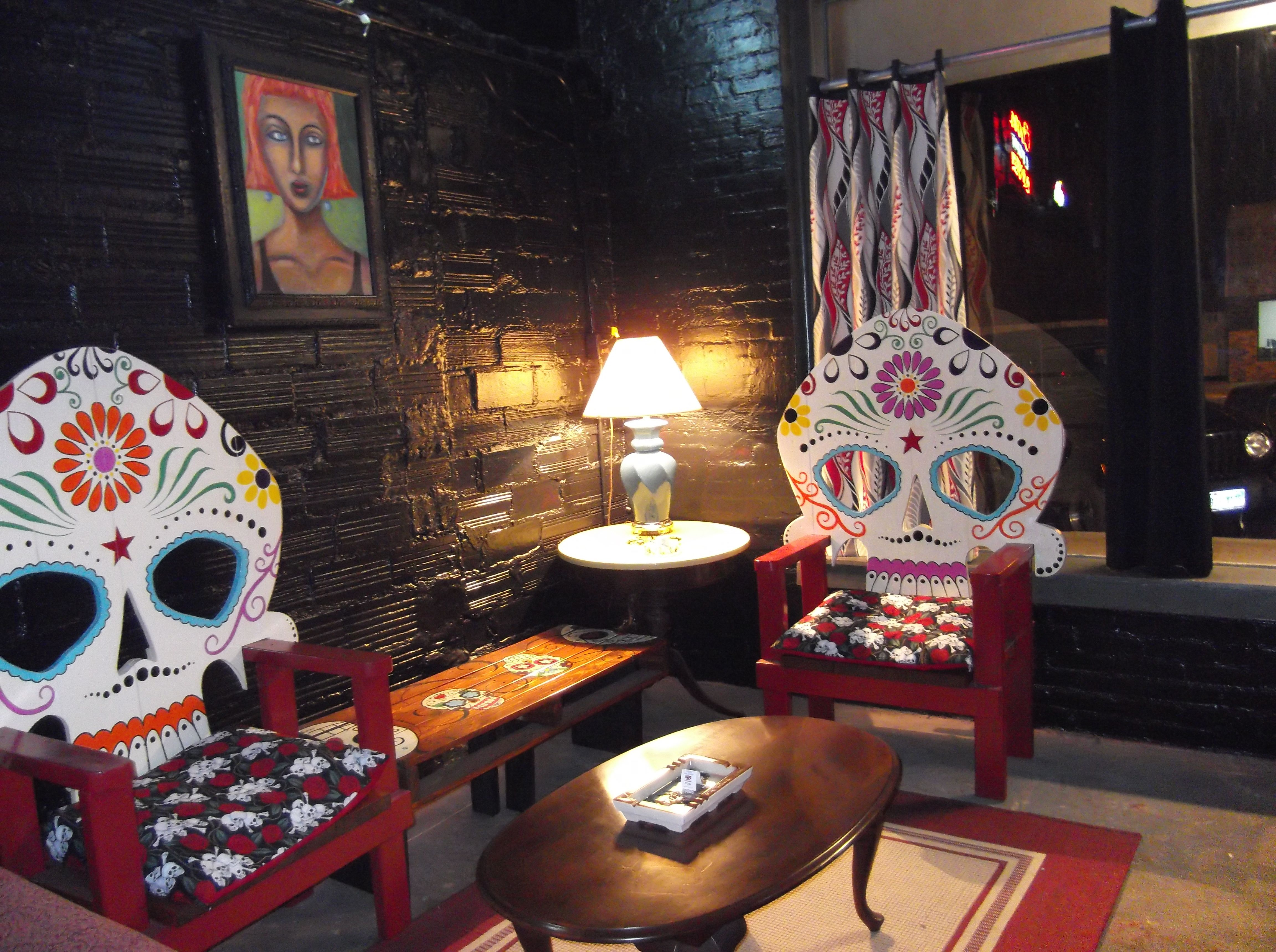 Sugar Skull Chairs