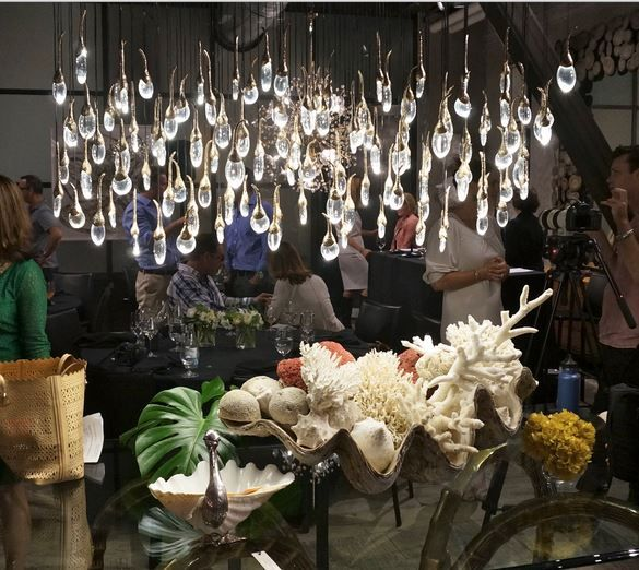 Chandelier shown from Coup D\'Etat in San Francisco on Things ...