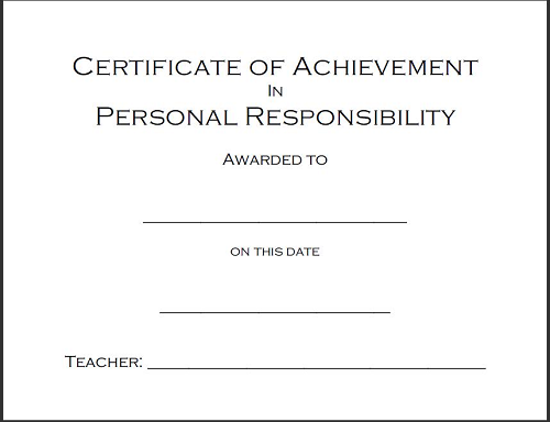 Character award certificates free to print k 12 education and character award certificates free to print thecheapjerseys Images