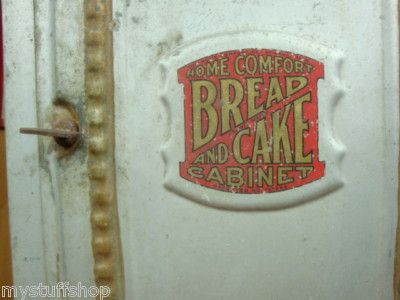 Home Comfort Bread and Cake Cabinet | Vintage Baking | Pinterest ...