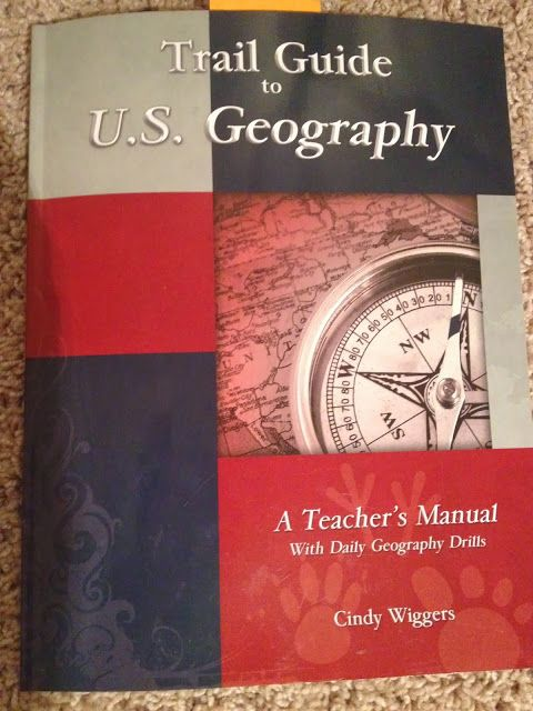 Blog detailing how she uses Trail Guide to US Geography