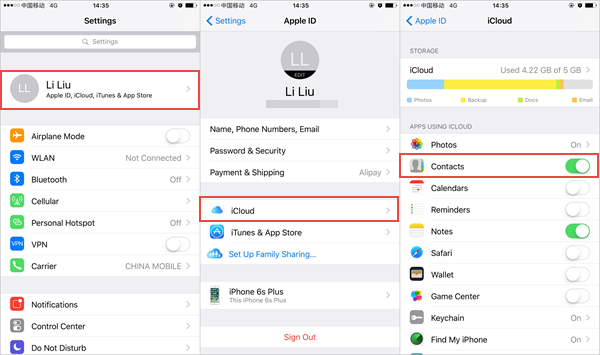 Transfer Contacts From Iphone To Iphone Icloud Password Security Types Of Android