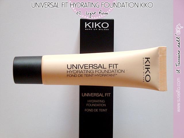 Universal Fit Hydrating Foundation by Kiko Milano #20