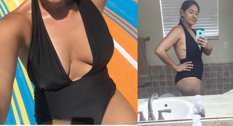 7440d4bac6e82 Zeraca Women's Deep Plunge High Waisted One Piece Swimsuit Bathing Suit