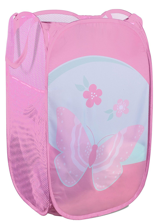 e59bfd98370e Amazon.com: Mesh Popup Laundry Hamper - Portable, Durable Handles ...