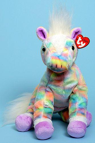 d66ede8bcfa Opal (rainbow) - horse - Ty Classic   Plush