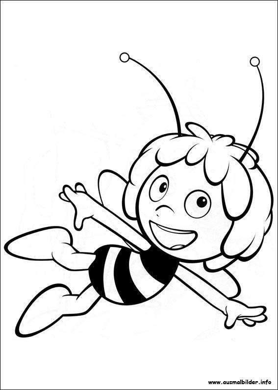 die biene maja malvorlagen  malen  pinterest  die biene