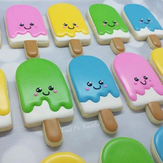 15 Amazing Royal Icing Sugar Cookie Designs #sugarcookies