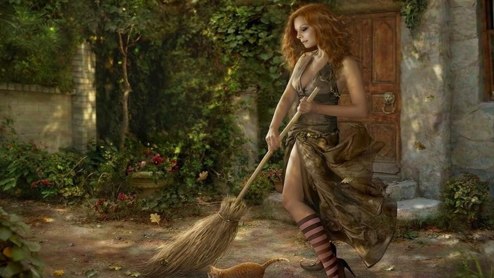 HD Pretty Witch Wallpaper Wizards & Witches Pinterest