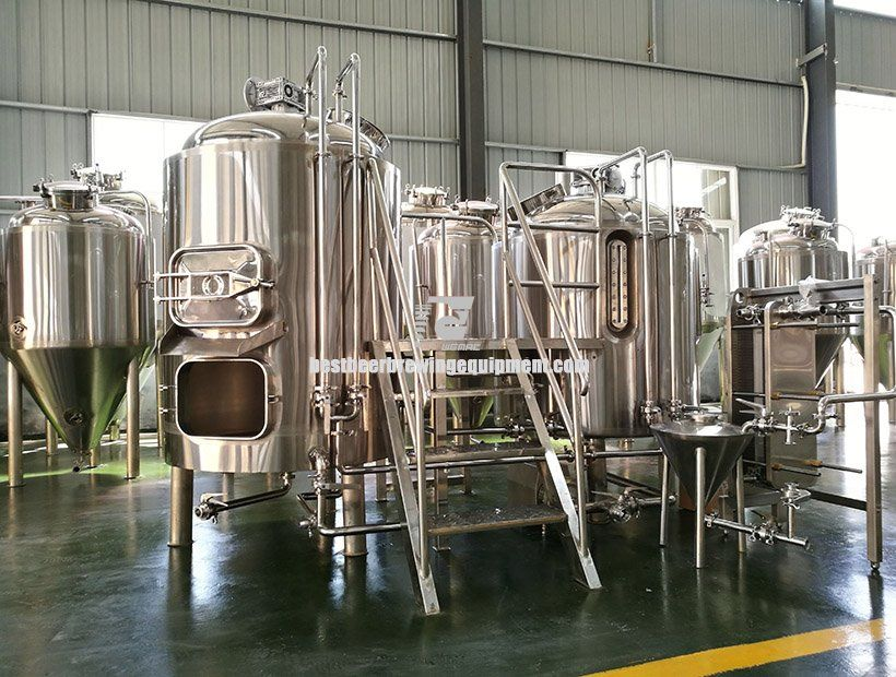 5BBL Nano Brewery System For Sale / Nano brewery equipment