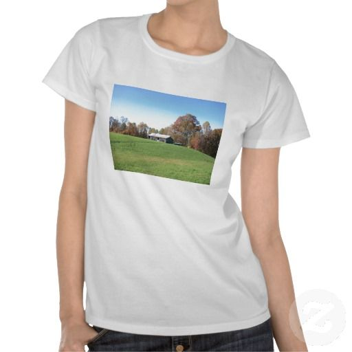 Customizable Barn in Field Tee's by dww25921 and Zazzle!  You have an impressive amount of styles and colors to choose from!  Feel free to personalize this shirt and make it your own!