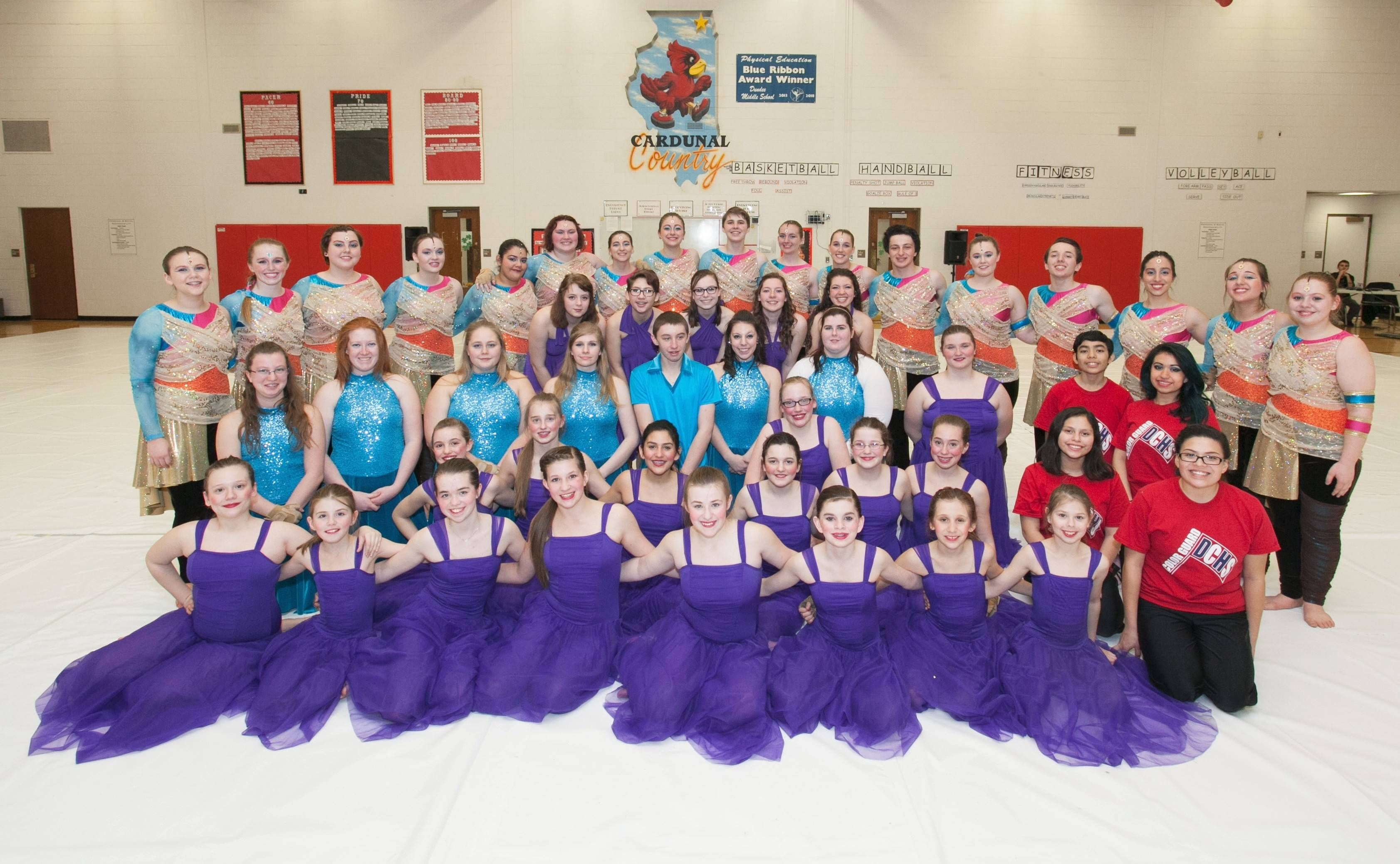 Articles about color guard - Allegiance Color Guard Brings Home Gold And Silver Medals
