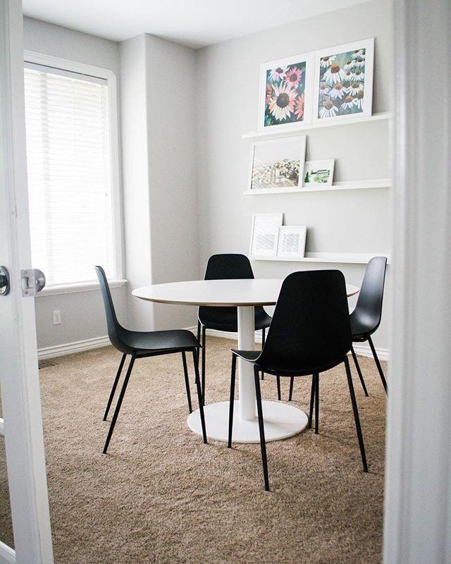 Svelti Pure Black Dining Chair In 2020 Black Dining Chairs Dining Chairs White Dining Chairs