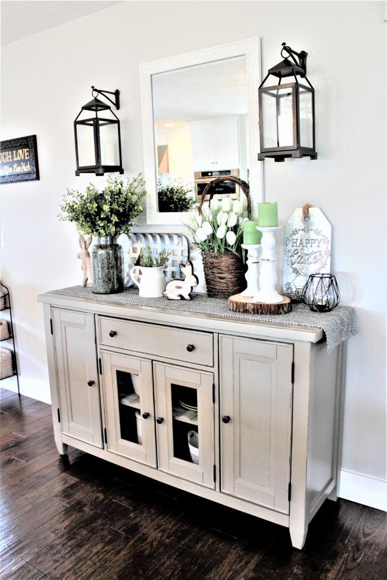 Dining Room Buffet Makeover Willow Tree Hill Dining Room