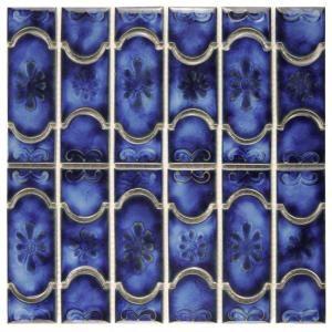 Merola Tile Montego Sapphire 121/4 in. x 121/2 in. x 5