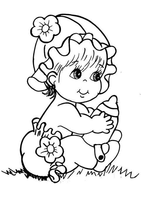 Pin De Shanna Herrera Em Coloring Bebe Para Colorir Padroes De