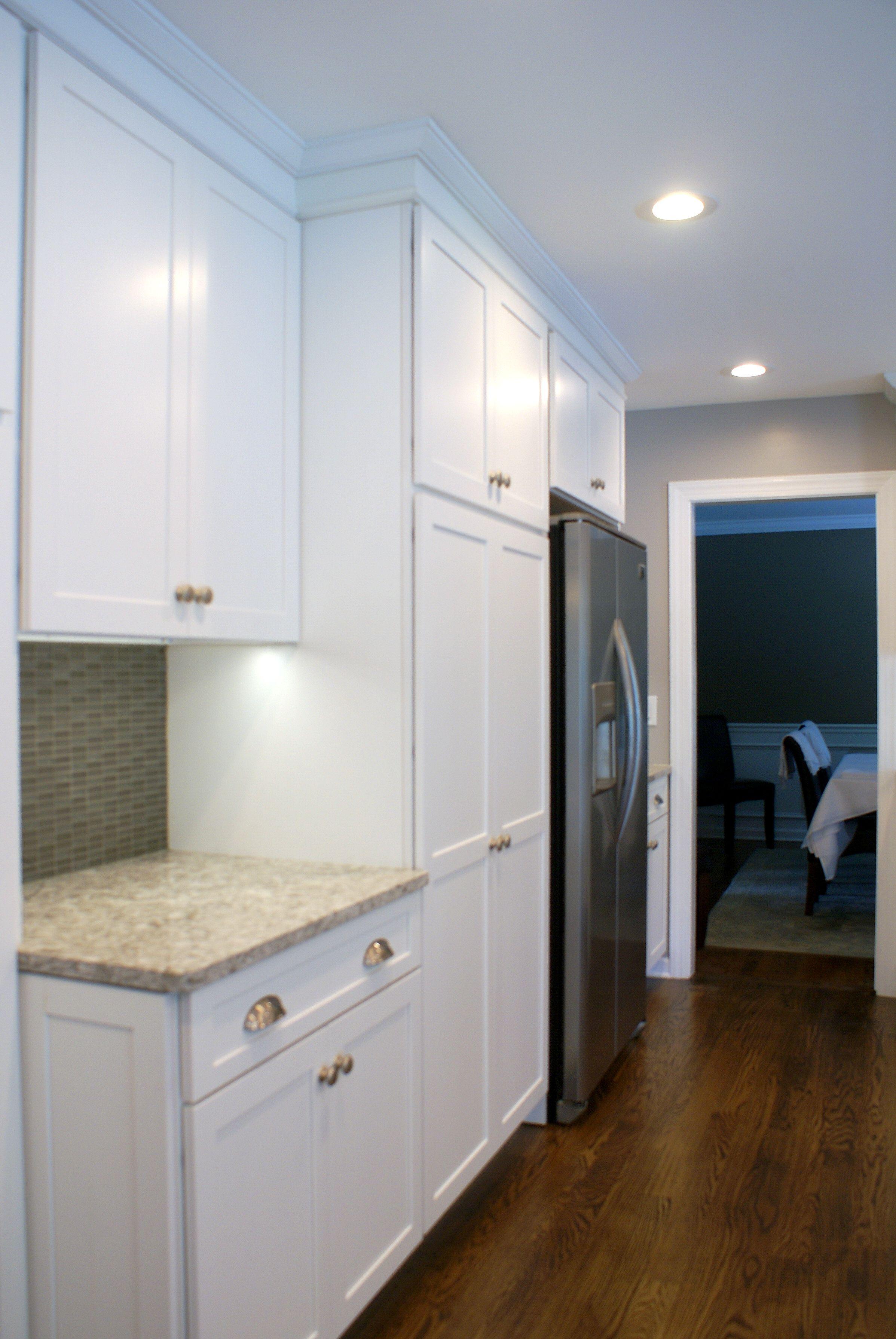 White Diamond kitchen with new quay quartz countertops (3 of 15 ...