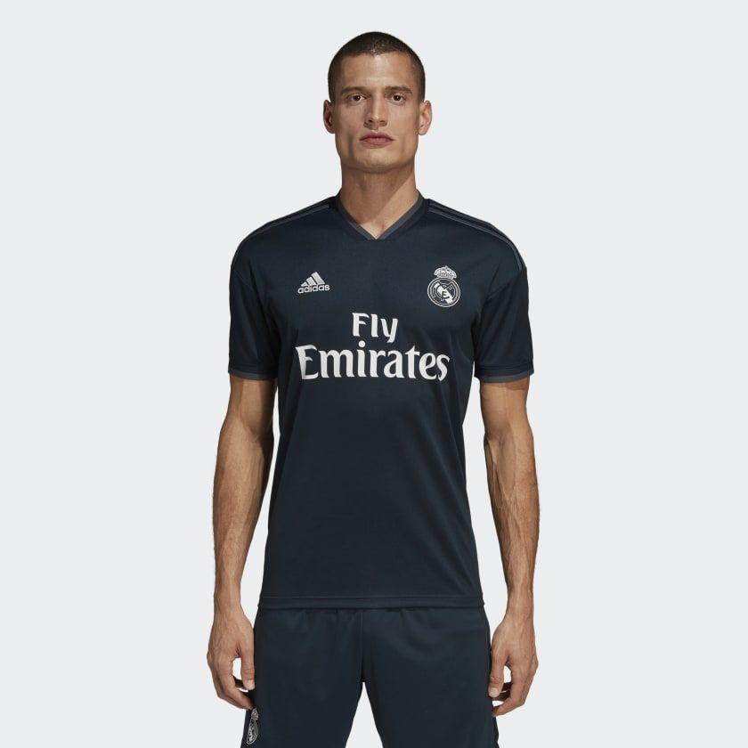 f1fc071fb3d18 Real Madrid Away Jersey Onix Grey L Mens