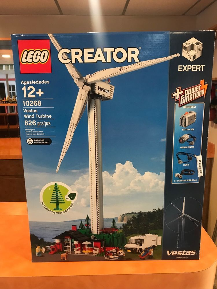 LEGO Creator 10268 Vestas Wind Turbine New - IN HAND FREE SHIPPING