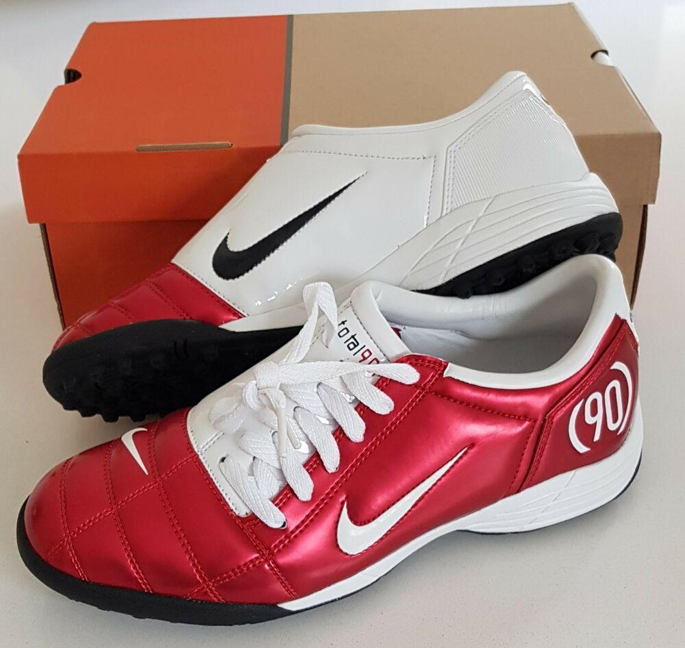 9ae3236c64ce1 OG 2005 NIKE TOTAL 90 III TF PLUS ASTRO TRAINERS FOOTBALL SOCCER VAPOR  UK10.5 #Nike