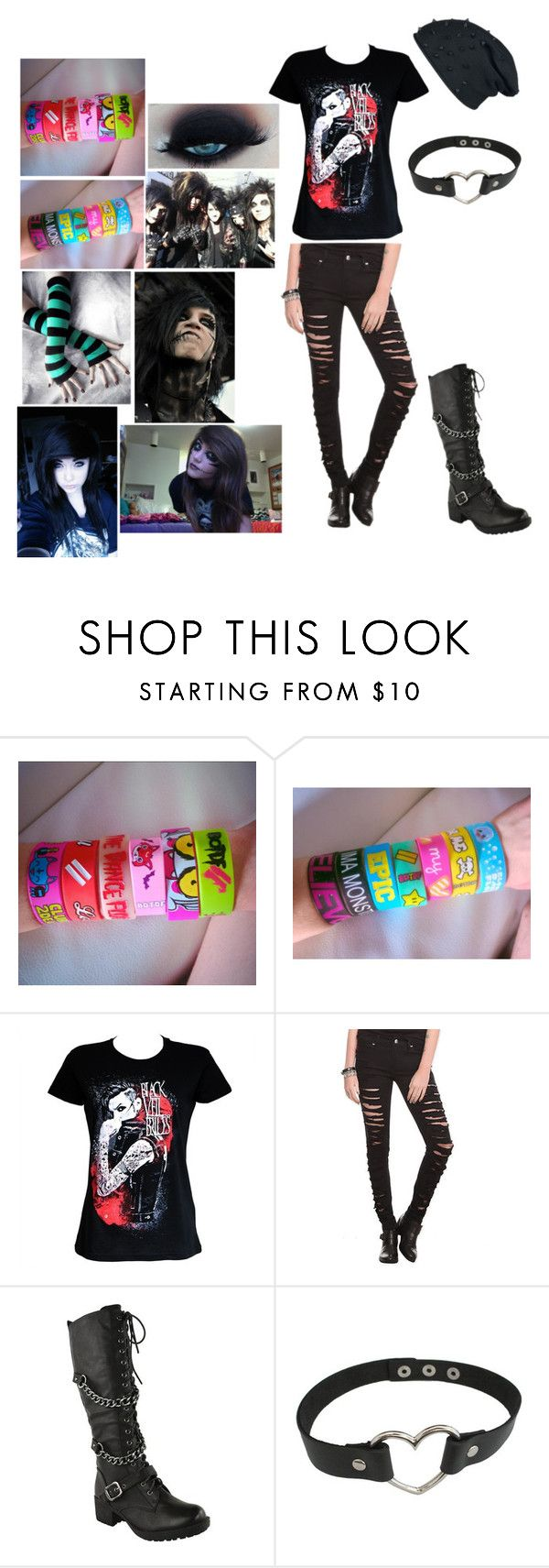 """""""BVB"""" by amandaxvanity ❤ liked on Polyvore featuring Gaia"""