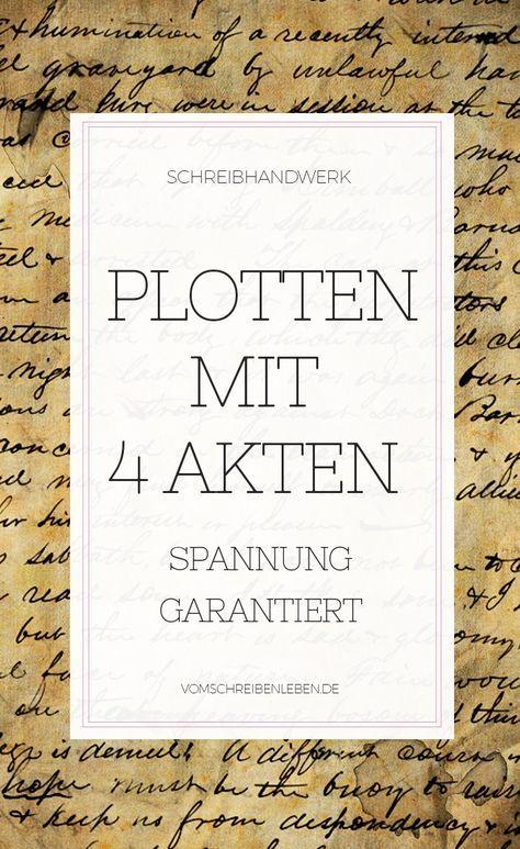 Photo of Die 4-Akt-Struktur in Romanen Vom Schreiben leben