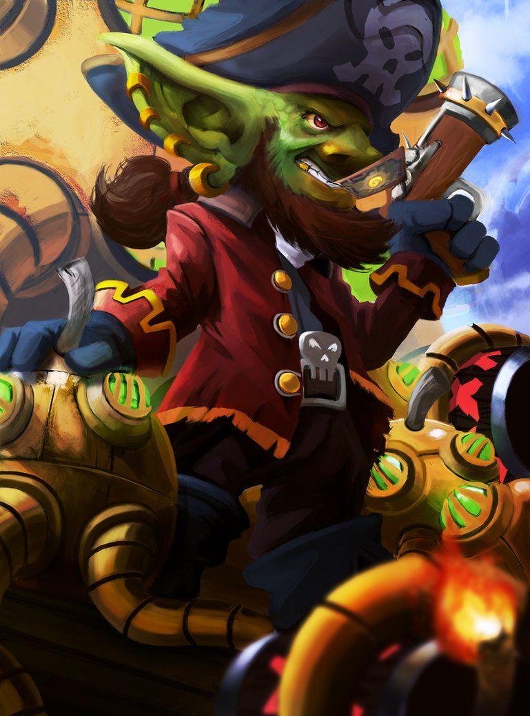 Gaarhblin The Pirate Goblin by rlanghi | Goblins - Goblin ...