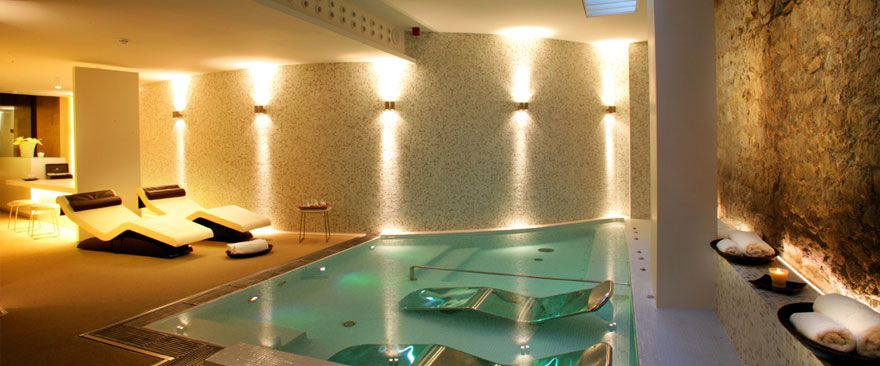 having a luxury health suite or home spa in the home has become