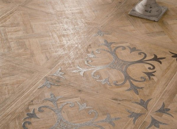 Apartments Medium Patterned Wooden Floor Tiles With Fleur De Lis Motif Closeup Art Walls Also Laminate Flooring Dark Apartment Design Idea 2017