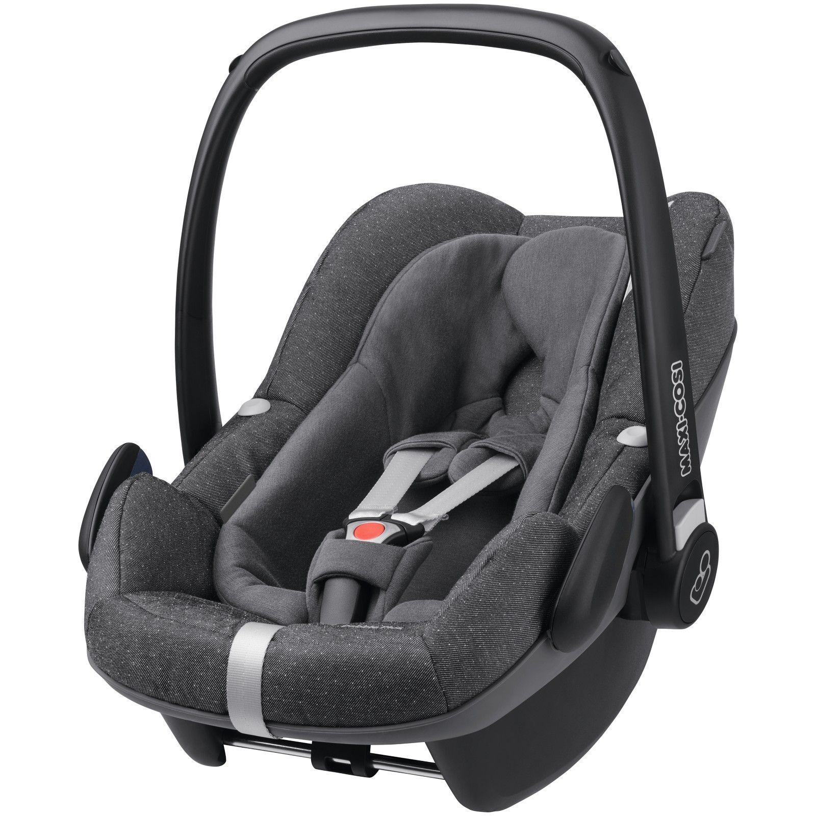 Maxi Cosi Pebble Plus I Size Baby Car Seat Sparkling Grey Baby Car Seats Maxi Cosi Car Seat Baby Car