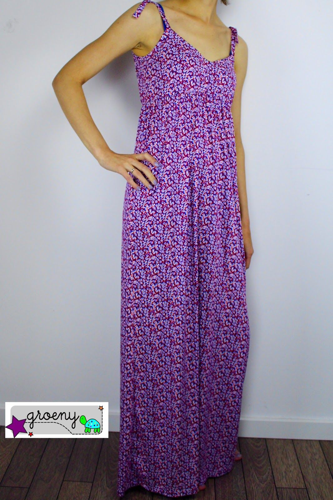 lillesol & pelle Schnittmuster/ pattern: Maxikleid / Maxi dress ...
