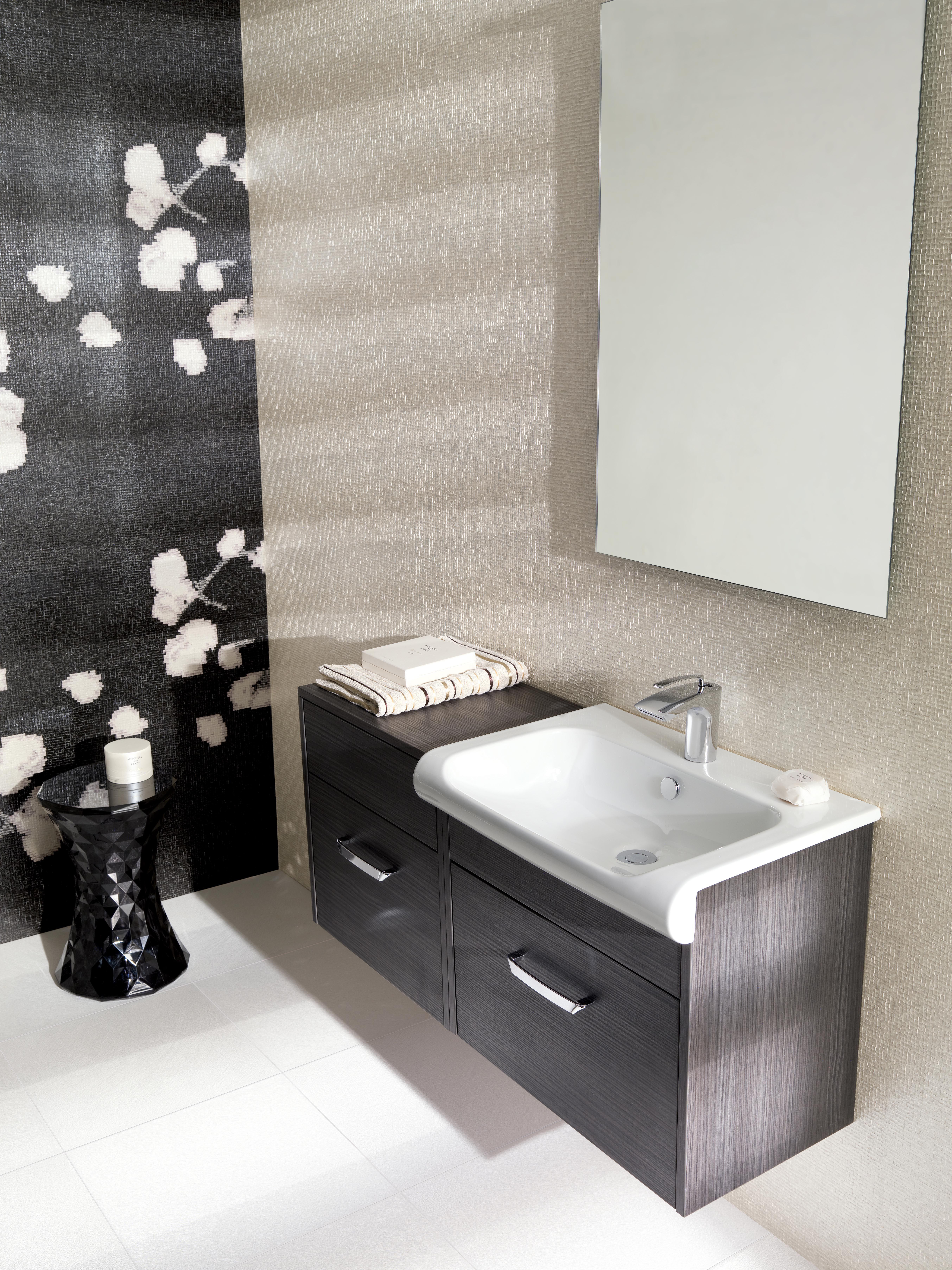Bathroom units uk - Essence Anthracite Bathroom Furniture Range From Crosswater Http Www Bauhaus Bathrooms