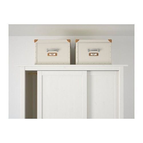 Kids Room Bedroom Storage Chest Unit Box With Lid For Sale: Fjalla Ikea Storage Boxes