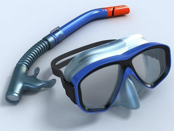 Diving mask  tube set