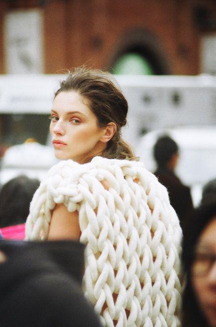 Oyster Originals: Celeste Tesoriero For The International Woolmark Prize Shot By Ryan Brabazon | Fashion Magazine | News. Fashion. Beauty. Music. | oystermag.com