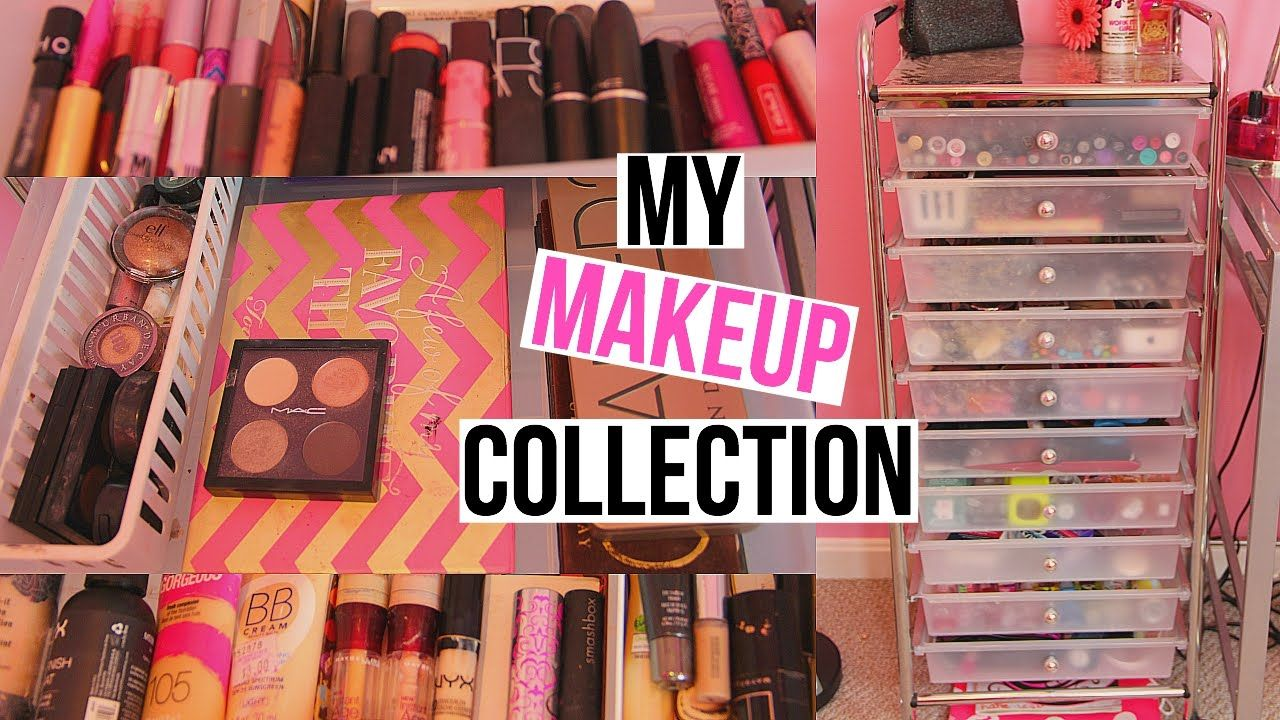 Huge Makeup Collection 2015 Storage Makeup Collection Collection Makeup